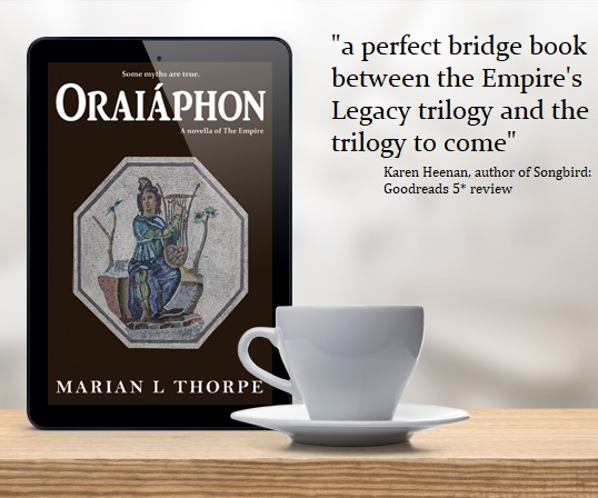 ebook with cup and text